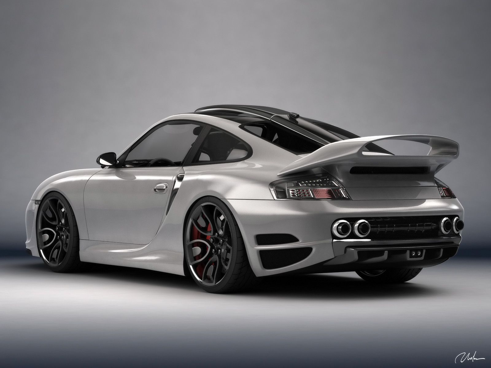 PORSCHE 911 996 TOP ART CONCEPT DESIGN BY BOGDAN URDEA - Porsche Wallpaper (31155937) - Fanpop fanclubs