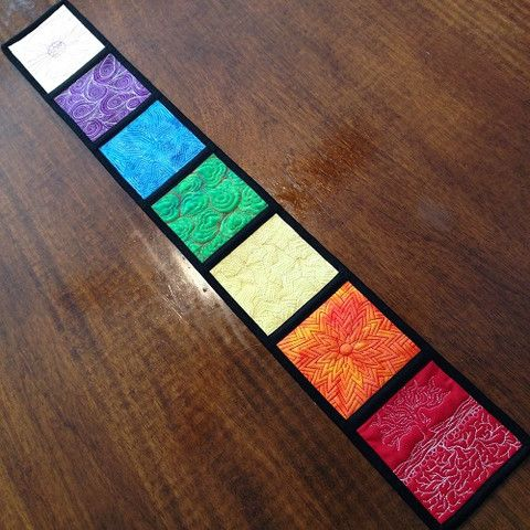 how to make a chakra wall hanging