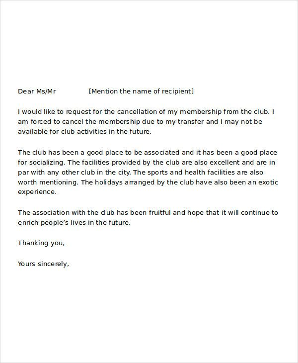 membership resignation letters free sample example format speaker - basic resignation letter