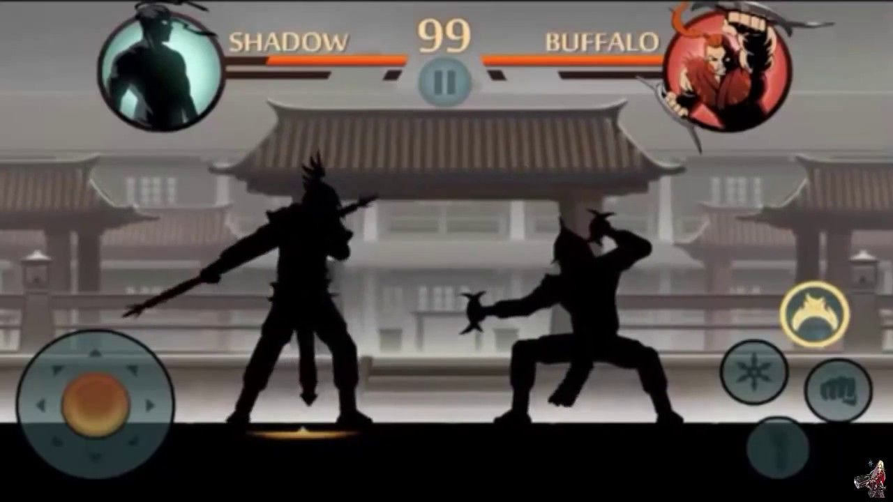 Shadow Fight 2/ Shadow vs Bodyguard & Hermit Part 2 | Shadow Fight 2