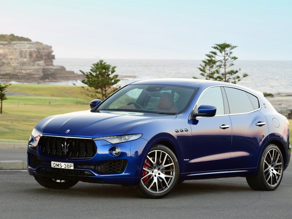 Compact Suv Blue Maserati Levante Wallpaper With Images