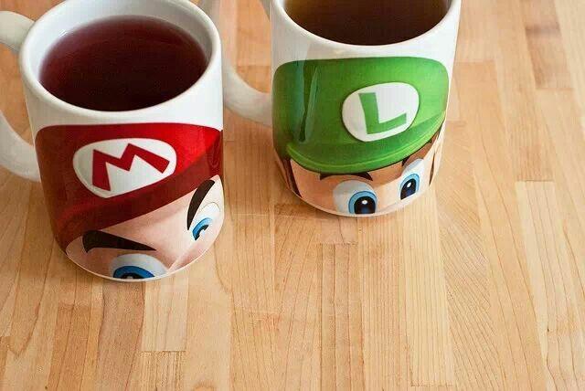 Oh! Yo quiero esas tazas :-)