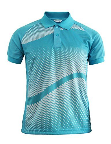 916829a05 BCPOLO Men's Sporty Design Printed pattern Polo T-shirt Functional Fabric…