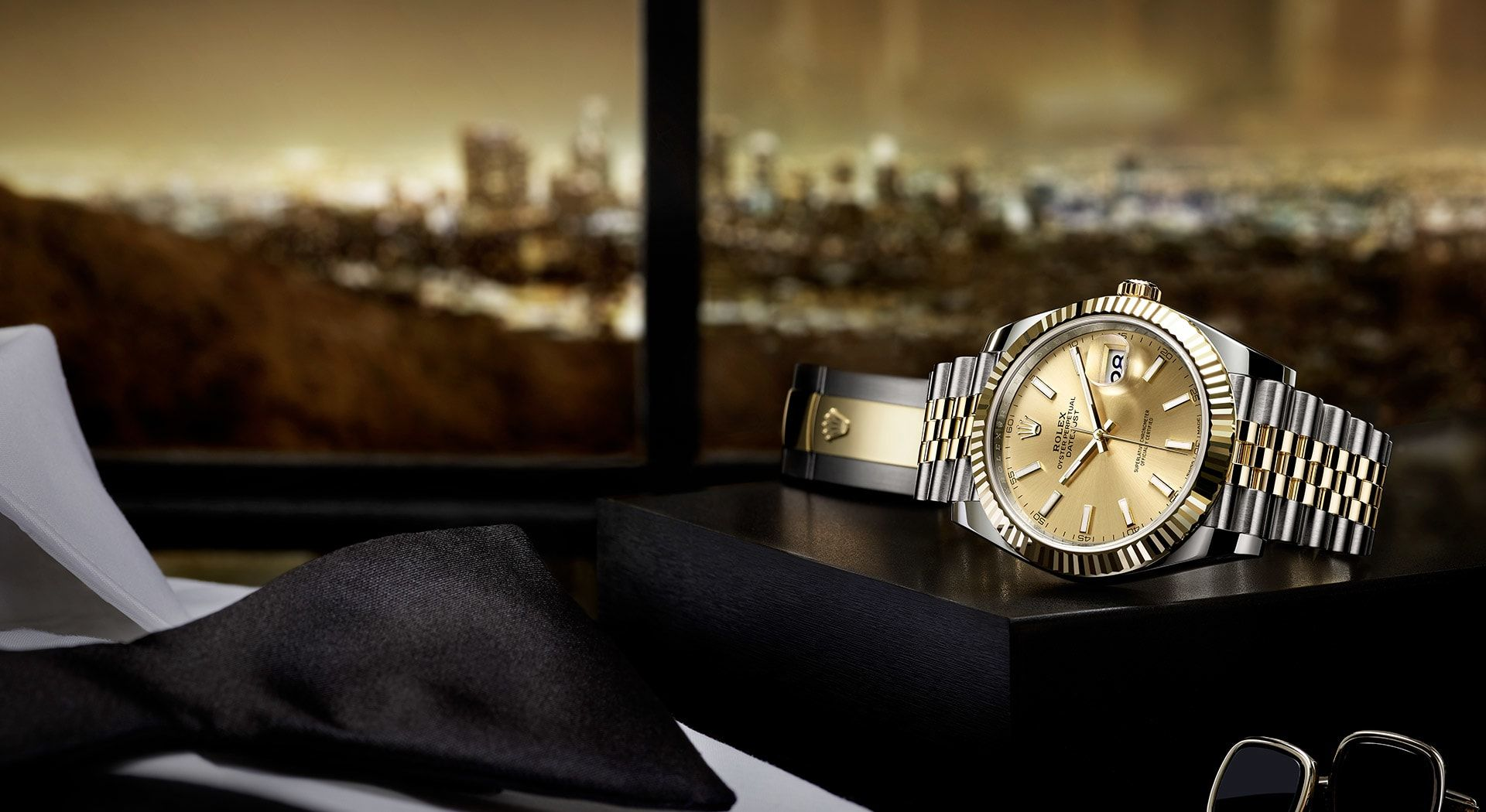 Rolex Lady Datejust 28 Watch Yellow Rolesor Combination Of
