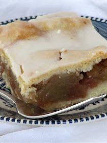Pine Cones and Acorns: Slab Apple: Thanksgiving Dessert Idea