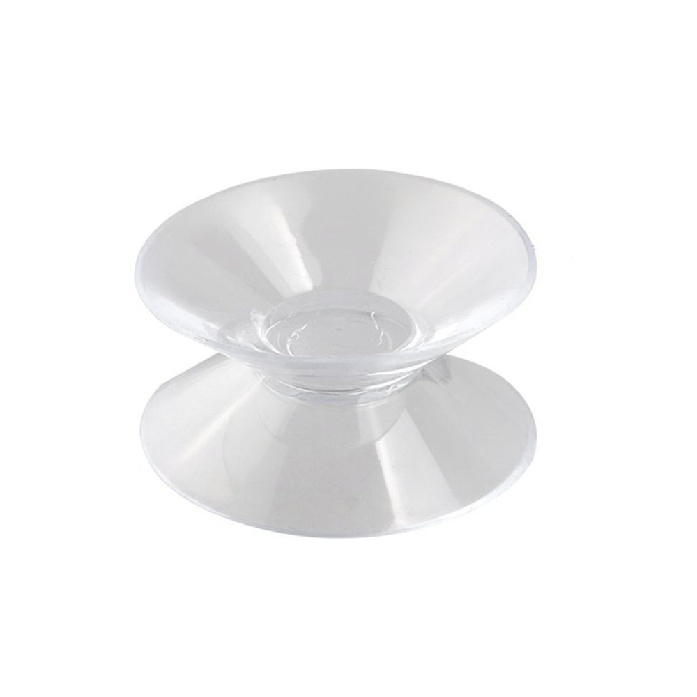 9 Pcs Clear Soft Plastic Double Sided Suction Cup for Car