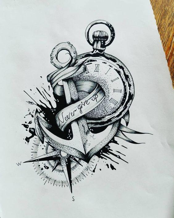 Pin By Mark Mersino On Tattoo Ideas In 2020 Unique Half Sleeve Tattoos Tattoo Sleeve Designs Clock Tattoo Design