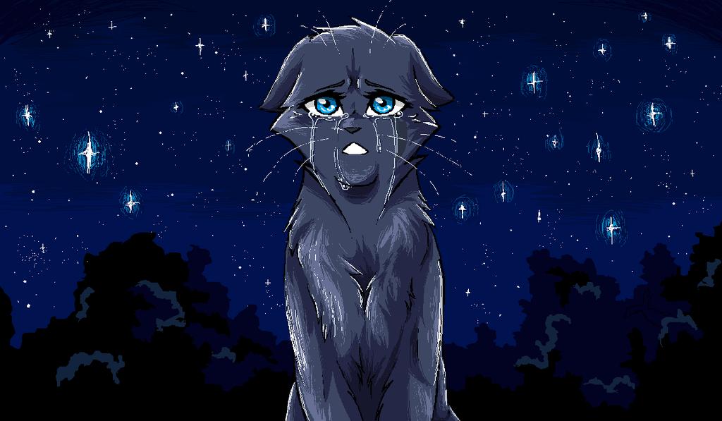 Компьютера день, классные картинки котов воителей грустные