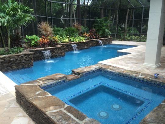 Southern Pool Design, Aqua Marine Beadcrete.   Pebble Tec, Pebble ...