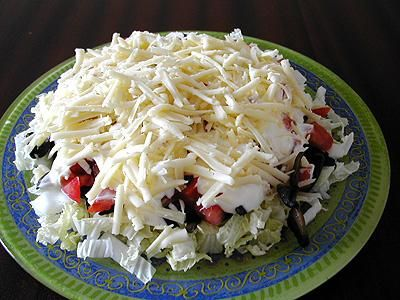 вкусные и быстрые салаты рецепты с фото
