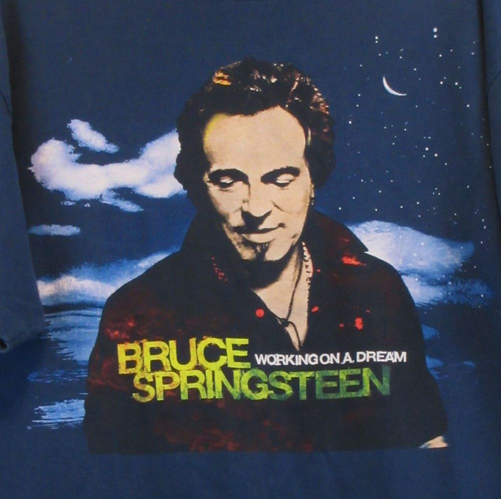Bruce Springsteen Working On A Dream 2009 World Tour T