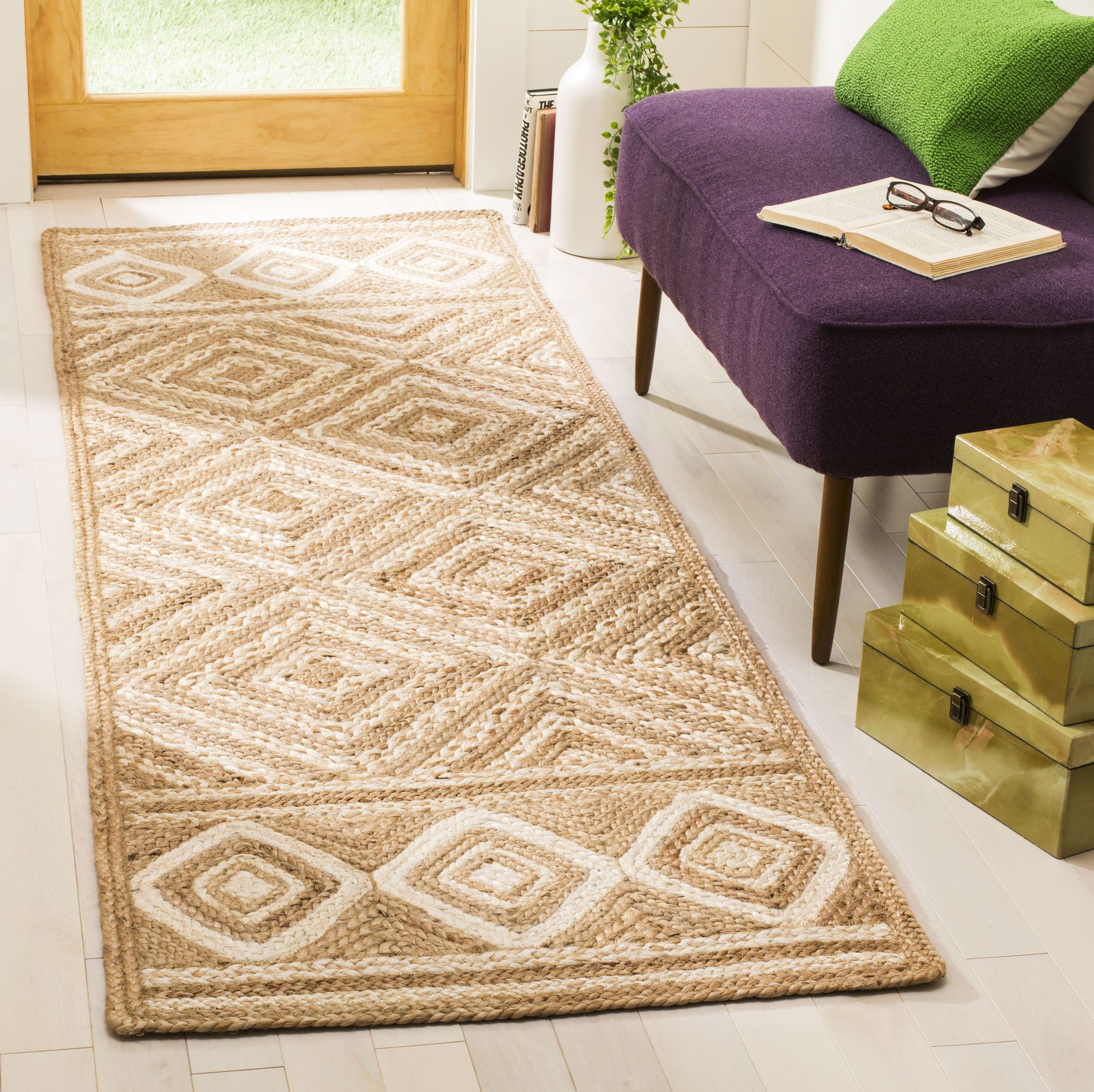 Nf880b Color Natural Ivory Size 2 6 X 8 Area Rug Sizes