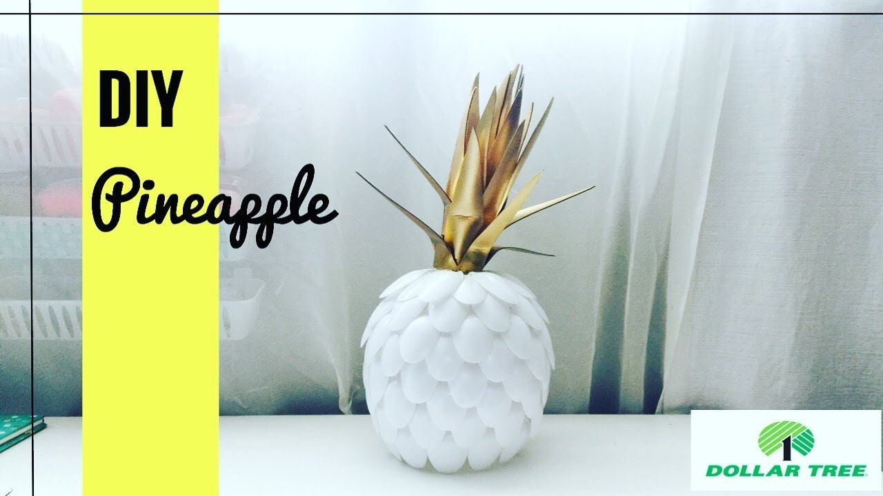 Pineapple Diy Dollar Tree Items With Images Dollar Tree Diy
