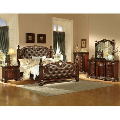 Orleans Standard Configurable Bedroom Set Bedroom Furniture Sets