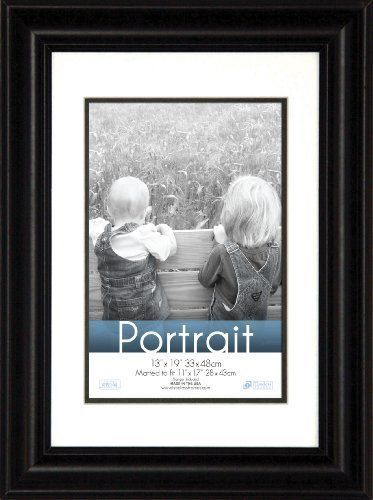 Timeless Frames 13x19in Fits 11x17in Photo Lauren Portrait Wall Frame Black Frames On Wall Portrait Wall Portrait Frame