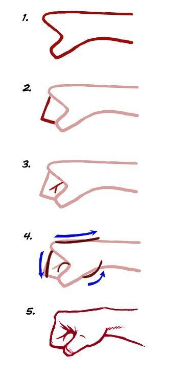 Hyaa Punching Fist I Always Have Problems With Fists Drawing Tips Art Drawings Sketches Pencil Art Drawings