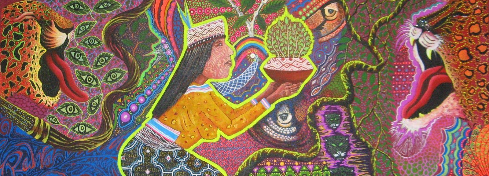 mujer curandera InnovArte San Marcos 2015: Buscando el río