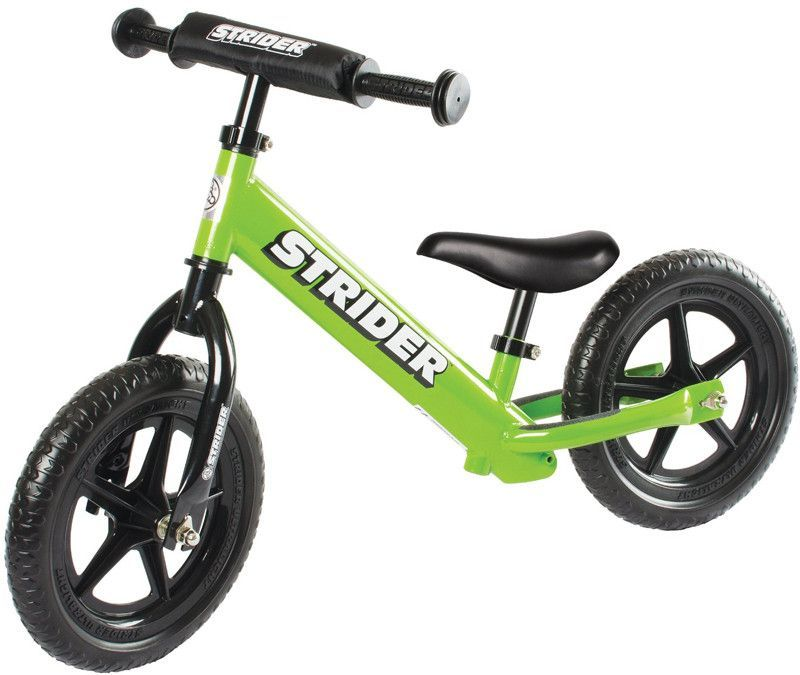 Strider STS4GN 12 Sport GREEN w/XL Seat Post and Saddle