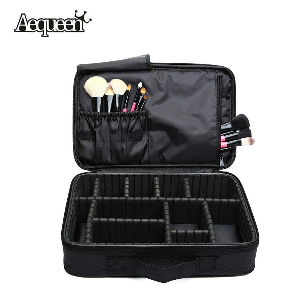 Women Makeup Bag High Quality Professional Organizer Makeup Brush Bag Case  Cosmetic Bag Large Capacity Storage Bag Art Tool Box 5a1ba9e73dd6d