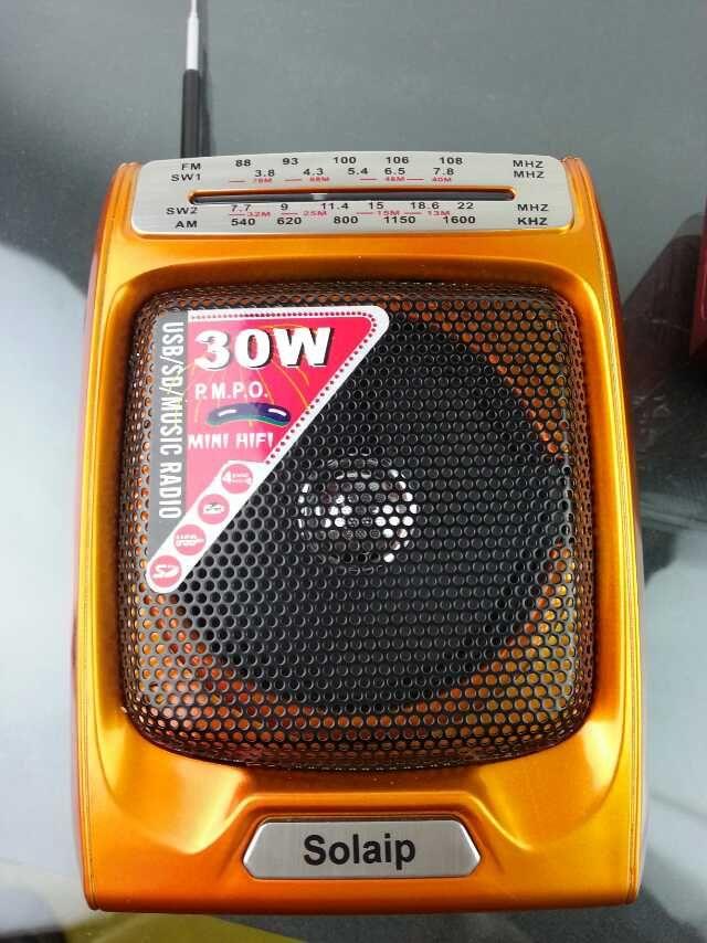 PORTABLE RADIO TORCH - 2000PCS ,,