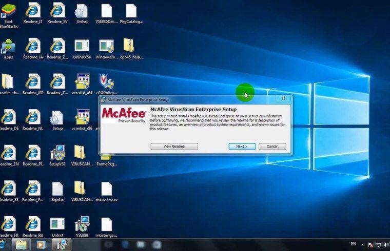 mcafee virusscan enterprise 8.8 dat download