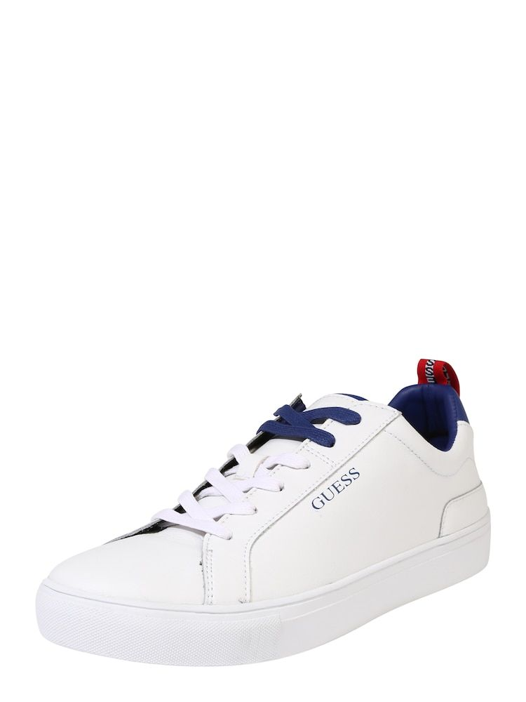 GUESS Sneaker 'Luiss' in weiß | Turnschuhe, Herrin und Leder