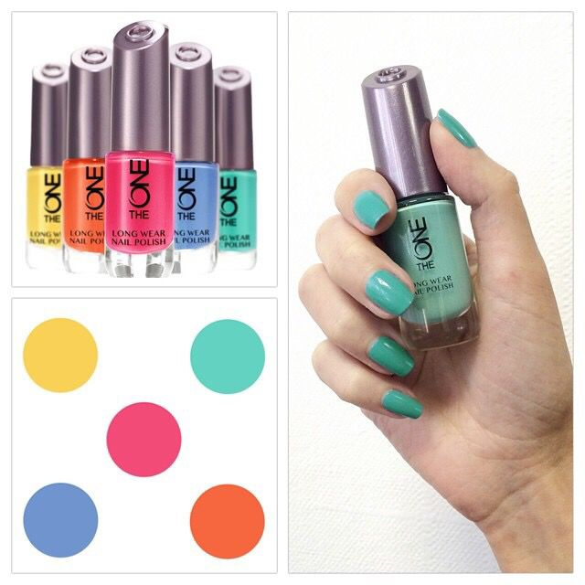 The One Long Wear Nail Polish available in 15 shades. Available to ...