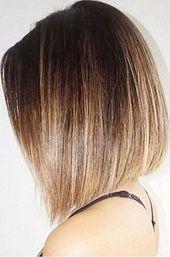 Photo of Short Straight Hair #ombrehairstraight