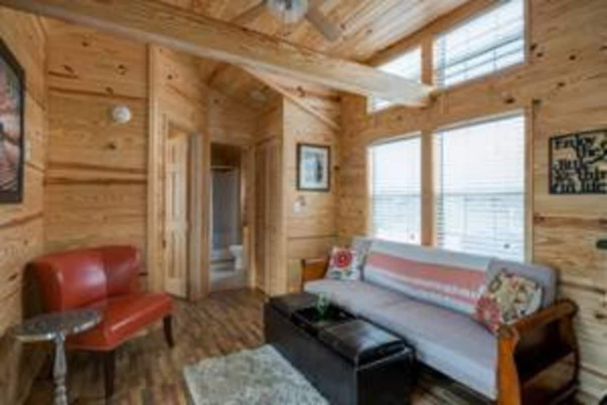 Fully Furnished Tiny House with Wrap Around Porch — Move or Leave in Place