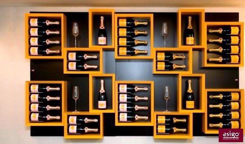 Gallery Esigo 5 Range Bouteilles Design Cave A Vin Etageres A Bouteilles De Vin