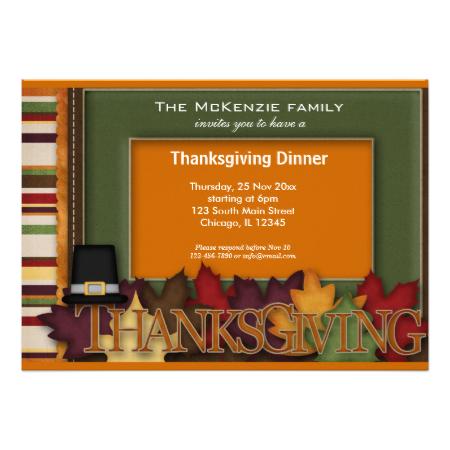 thanksgiving dinner invitation pinterest dinner invitations