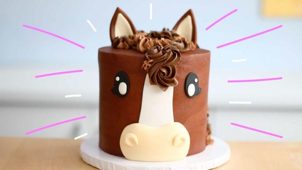 Chocolatey HORSE CAKE! #celebrationcakes