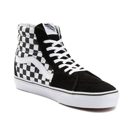 b9fa203592 Vans Sk8 Hi Chex Skate Shoe in 2019 | Christmas List | Shoes, Vans ...
