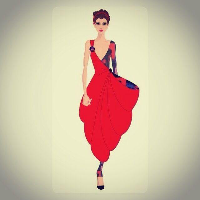 Croqui de moda - Gabriela Casagrande de Melo