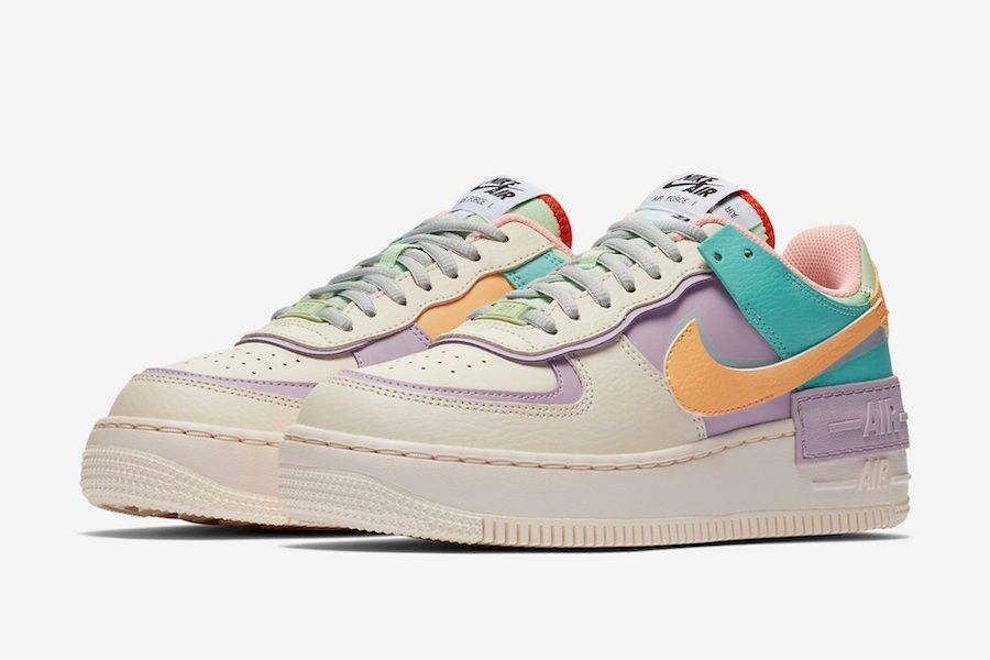 Nike Air Force 1 Shadow Pale Ivory CI0919 101 in 2020 | Nike