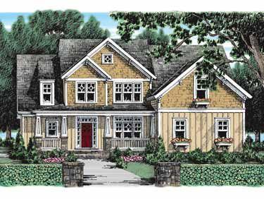 Main-Level Master Suite (HWBDO09793) | Craftsman House Plan from BuilderHousePlans.com