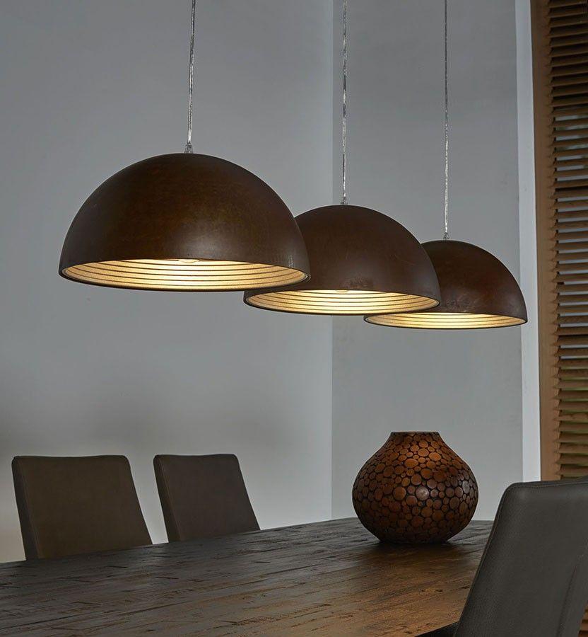Suspension Industrielle 3 Lampes Tori | Luminaires Design