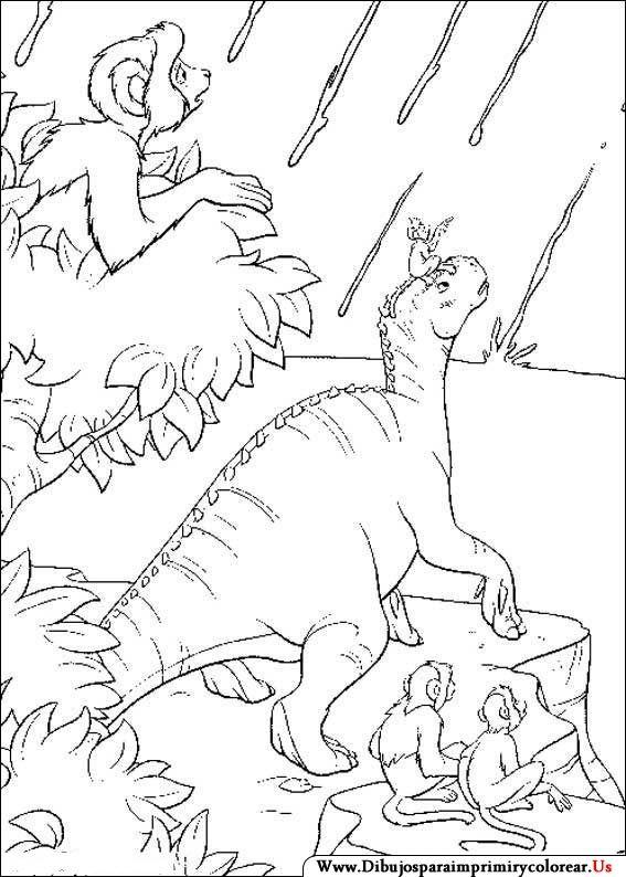 Dibujos de Dinosaurios para Imprimir | Lugares para visitar | Dibujo ...