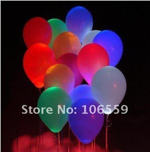 LED Balloons Flashing Balloon Lighting Balloon Christmas Balloon