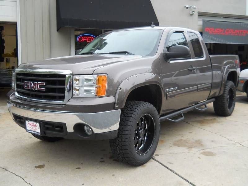 2008 Gmc Sierra 1500 4wd Sle1 4dr Extended Cab Lifted 6 5 Ft Sb