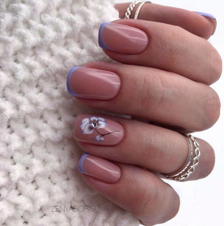 Маникюр весна-лето 2020 – топ-12 трендов, модные идеи-новинки маникюра на весну-лето Короткие ногти, Ногти, Микки ногти