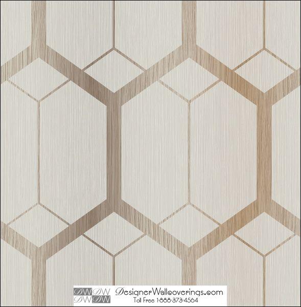 M Modern Marvel Large Scale Geometric Wall Paper Mod