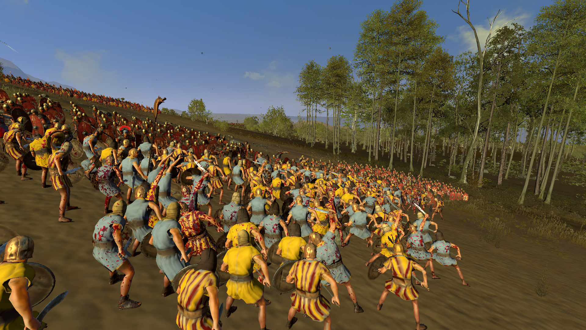 They want to kill use, but ROMA INVICTA! Total War Rome 2 Emperor Edition