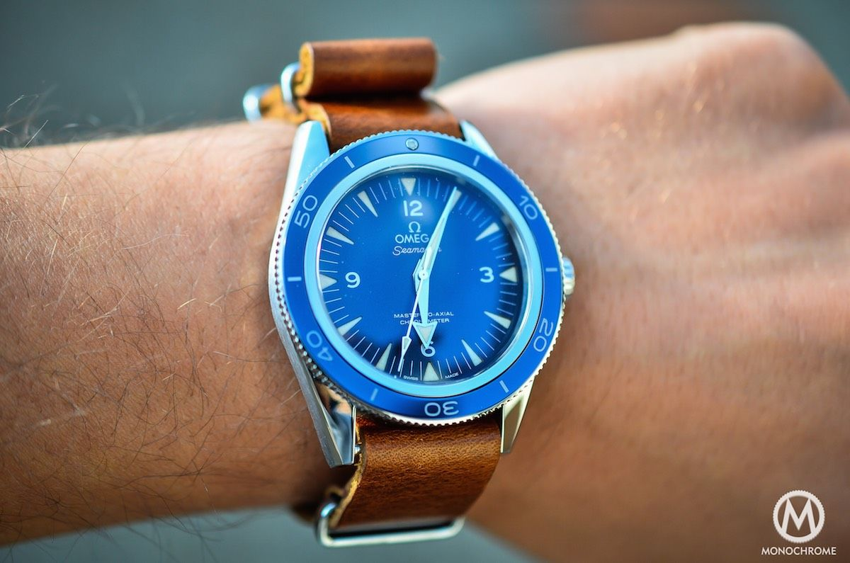 Omega Seamaster 300 Master Co-Axial in titanium - Review after a .