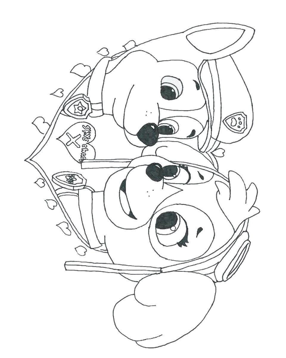 Free Coloring Pages Of Paw Patrol Ryder Coloring Sheets
