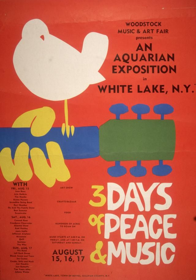 How The Organizers Of Woodstock Put The Legendary Festival