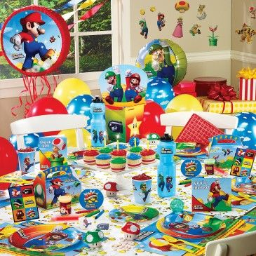 Super Mario Party EVERYTHING INCLUDED Party Supplies Canada