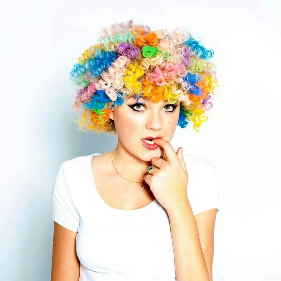 Rainbow warrior hair pinterest