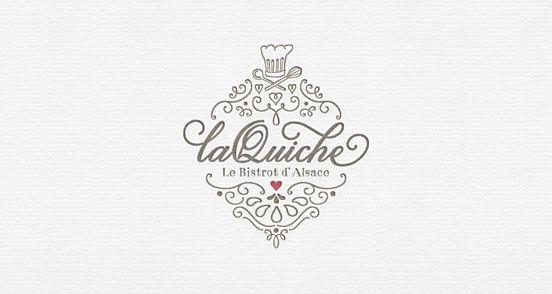 La Quiche Final | Logo Design | The Design Inspiration