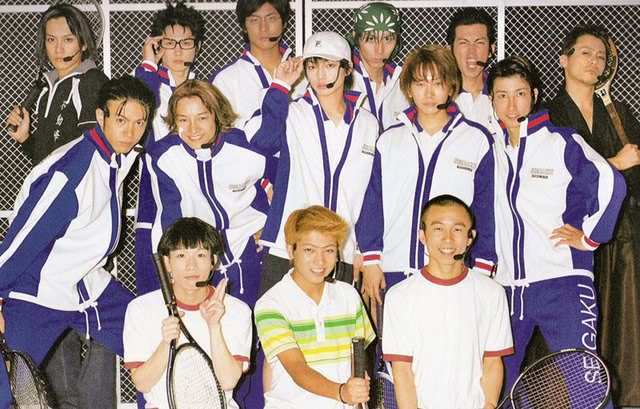 Live Action Cast For Prince Of Tennis Musical The Prince Of Tennis Prince Of Tennis Anime Echizen